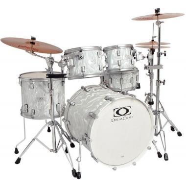 DRUMCRAFT Series 7 Progressive Maple Liguid Chrome/Satin Chrome HW барабанная установка