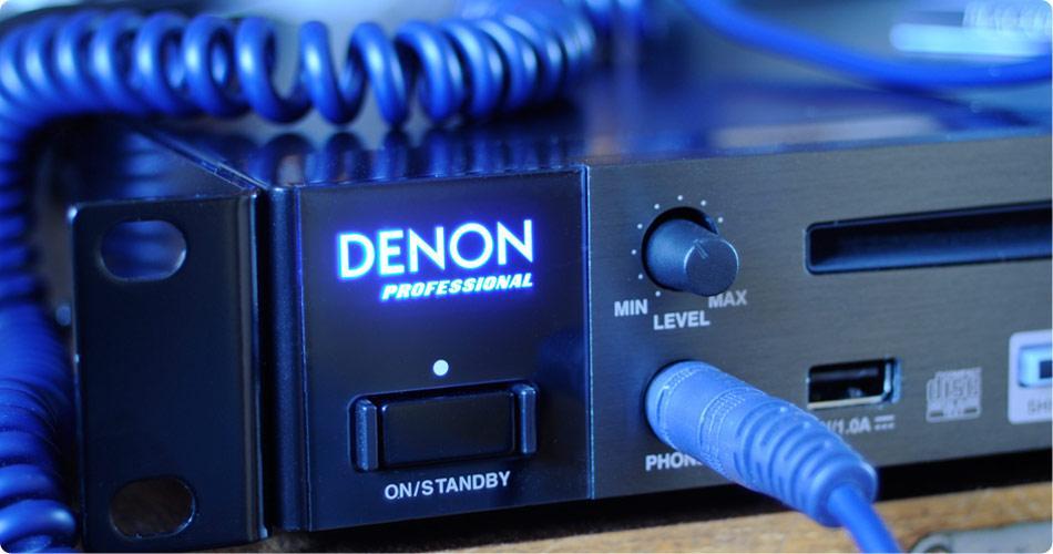 Denon Professional представляет новый сетевой медиа- и CD-проигрыватель DN-700C