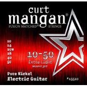 Curt Mangan Pure Nickel Wound (10-50) струны для электрогитары