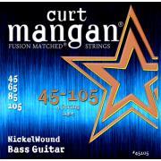 Curt Mangan Bass Nickel Wound (45-105) струны для бас-гитары