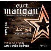 Curt Mangan Phosphor Bronze (12-54) струны для акустической гитары