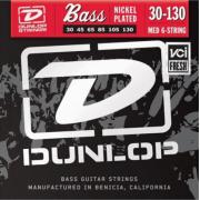 Dunlop Electric Bass Nickel Wound Medium 6 String DBN30130 (30-130) струны для бас-гитары, 6 струн