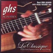 GHS La Classique Doyle Dykes Signature DD2300 струны для классической гитары