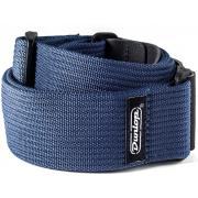 Dunlop D27-01NV Ribbed Cotton Navy Blue гитарный ремень