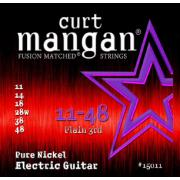 Curt Mangan Pure Nickel Wound (11-48) струны для электрогитары