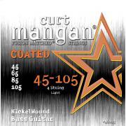 Curt Mangan Bass Nickel Wound Coated (45-105) струны для бас-гитары