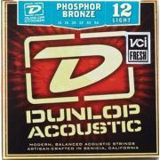 Dunlop Acoustic Phosphor Bronze Light 3 Pack DAP1254 (12-54) струны для акустической гитары, 3 комплекта