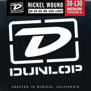 Dunlop Electric Bass Nickel Wound Medium Tapered B 6 String DBN30130T (30-130) струны для бас-гитары, 6 струн
