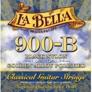 La Bella Black Gold Nylon Polished Golden Alloy 900B струны для классической гитары