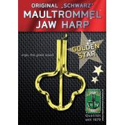 Gewa 844960 Original Schwarz Jew's Harp Golden Star 82 mm, No. 15 варган золотая звезда
