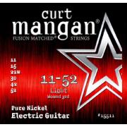Curt Mangan Pure Nickel Wound (11-52) струны для электрогитары