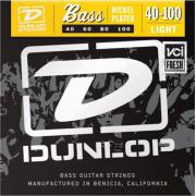 Dunlop Electric Bass Nickel Wound Light DBN40100 (40-100) струны для бас-гитары