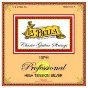 La Bella High Tension Silver 10PH струны для классической гитары, нейлон+серебро