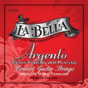 La Bella Argento Extra Fine Silver Plating Medium-Hard Tension SMH струны для классической гитары