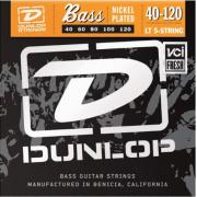 Dunlop Electric Bass Nickel Wound Light 5 String DBN40120 (40-120) струны для бас-гитары, 5 струн