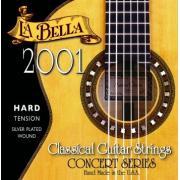La Bella Classical Hard Tension 2001 струны для классической гитары