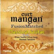 Curt Mangan Normal Tension Classical (Clear/Silver) струны для классической гитары