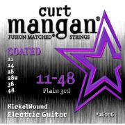 Curt Mangan Nickel Wound Coated (11-48) струны для электрогитары