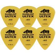 Dunlop 421P.60 Ultex Standard 6 Pack комплект медиаторов, 0,6 мм, 6 шт