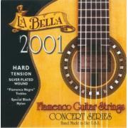La Bella Classical Flamenco Hard Tension 2001 струны для классической гитары