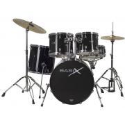 DrumCraft Pure Black Chrome HW PS800141 барабанная установка