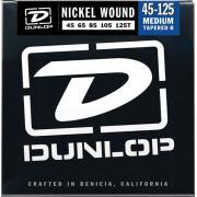 Dunlop Electric Bass Nickel Wound Medium Tapered B 5 String DBN45125T (45-125) струны для бас-гитары, 5 струн