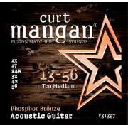 Curt Mangan Phosphor Bronze (13-56) струны для акустической гитары