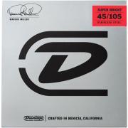 Dunlop Marcus Miller Super Bright Medium DBMMS45105 (45-105) струны для бас-гитары