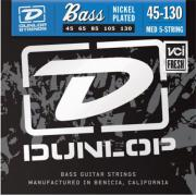 Dunlop Electric Bass Nickel Wound Medium 5 String DBN45130 (45-130) струны для бас-гитары, 5 струн