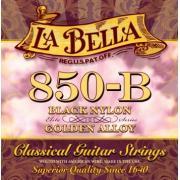 La Bella Elite Black Nylon Golden Alloy 850-B струны для классической гитары