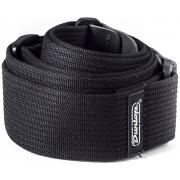 Dunlop D27-01BK Ribbed Cotton Black гитарный ремень