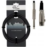 Alpha Audio Basic Line 190070 микрофонный кабель, джек - XLR, 9 м