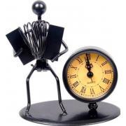 Gewa 980708 Sculpture Clock Accordion часы-скульптура сувенирные, аккордеонист