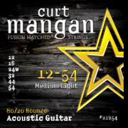 Curt Mangan 80/20 Bronze (12-54) струны для акустической гитары