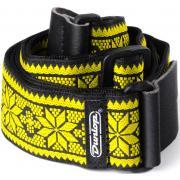 Dunlop D67-02YE Jacquard Fillmore Yellow гитарный ремень