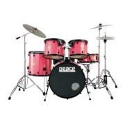 Peace DP-22SU-5BK Pink ударная установка из 5-ти барабанов, цвет розовый, полный комплект