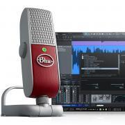 BLUE Raspberry Studio Премиальная мобильная USB и IOS система записи голоса
