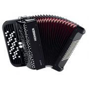 HOHNER Nova II 72 (A4262) black Кнопочный аккордеон 3/4