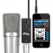 IK MULTIMEDIA iRIG PRE микрофонный усилитель для подключения к iPhone/iPod/iPad