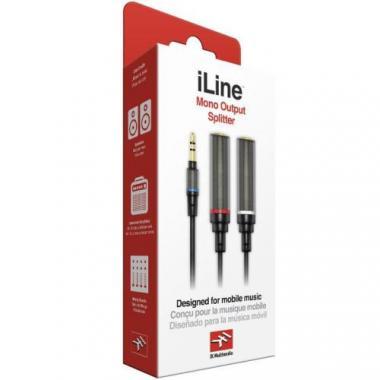 IK MULTIMEDIA iLINE MONO OUTPUT SPLITTER кабель для отправки сигнала с устройства