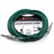 Joyo CM-04 Green гитарный кабель, 4,5 м