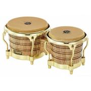 "LATIN PERCUSSION LP793X Galaxy Giovanni Bongos Natural/Gold комплект бонго 7 1/4"" и 8 5/8"""