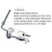 Peace DA-279 клэмп+шаровой том-холдер для одного тома