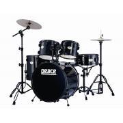 Peace DP-2022216B бас-барабан #11 черный (махагон 6 слоев)