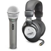 SAMSON Q2U микрофон USB, наушники