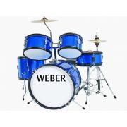Weber BabyKit Light Blue Детская ударная установка цвет синий