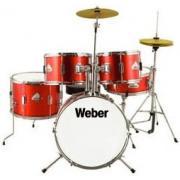 Weber BabyKit Red Детская ударная установка цвет красный